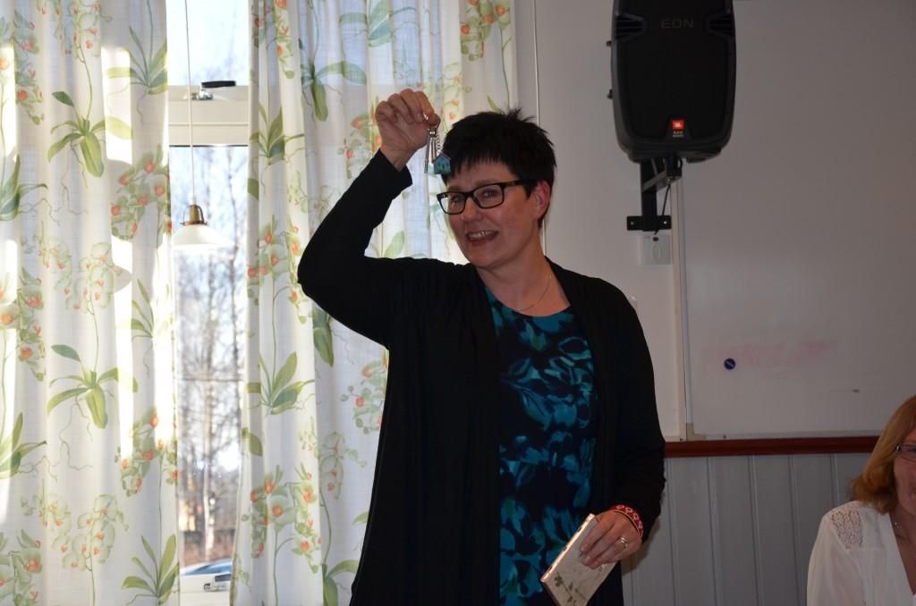 Birgitta Hedblom, ordförande Vänsterpartiet Västmanland